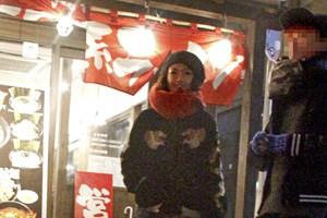 """二階堂ふみ 2世ミュージシャンと""""朝まで2ショット!"""""""