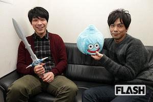 【ドラクエ30周年】井上聡と川島明が「ドラクエは卒業アルバム!」