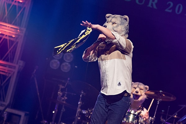 MAN WITH A MISSION、大阪2DAYSのツアー追加公演を発表!!