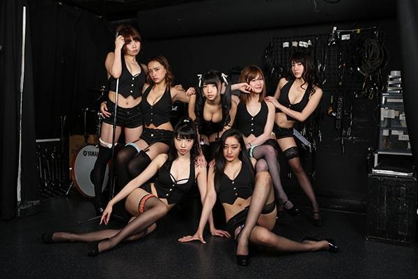本誌発のグラドルパフォーマンスユニット・G☆Girlsが東京・池袋LIVE INN ROSAで定期主催ライブを開催!