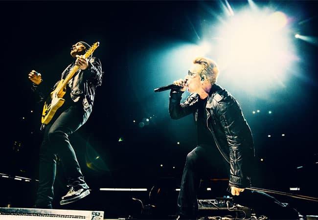 U2の最新ワールド・ツアーの映像商品発売決定!