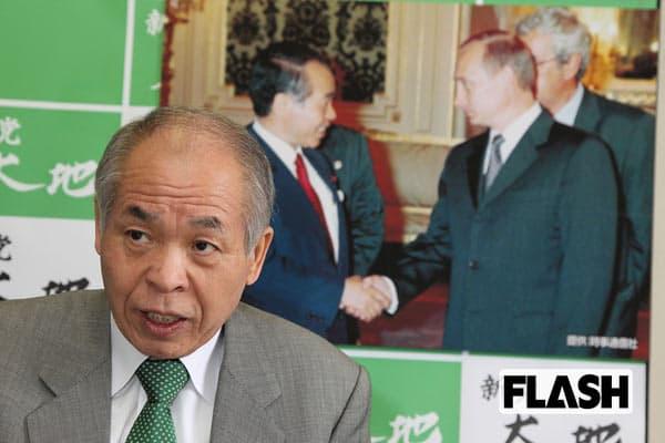 鈴木宗男が吼えた「幻となってよかった『舛添』北海道知事構想」