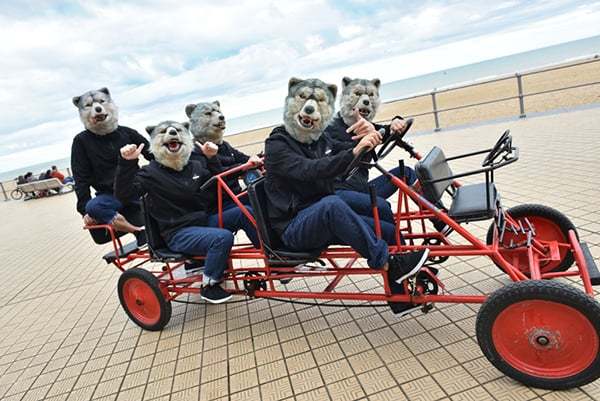 MAN WITH A MISSION、「狼大全集㈿」トレーラー映像公開、29日には特番も