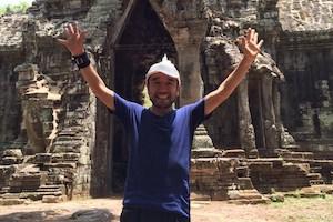 リオ五輪決定「猫ひろし」カンボジアで月1000キロのトレーニング