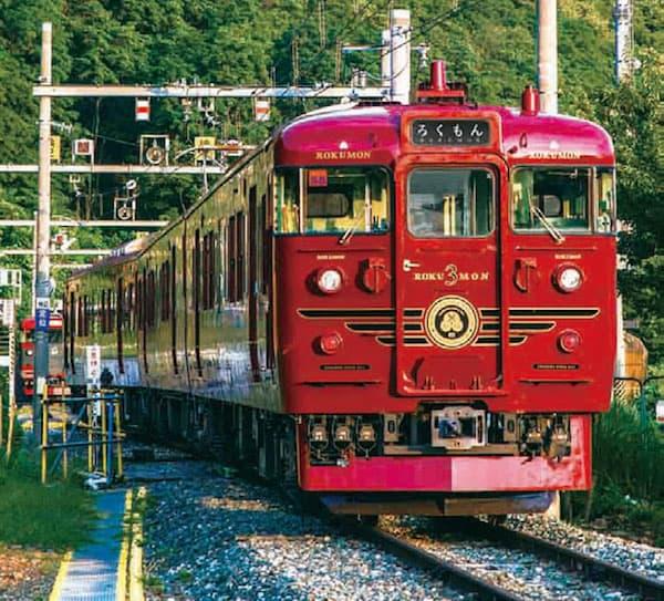 2014年7月11日運行開始の「ろくもん」(しなの鉄道)