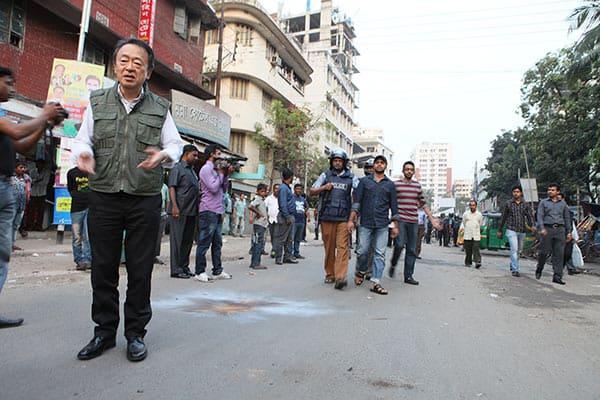 池上彰「バングラデシュ」取材中に「手製爆弾」投げつけられた
