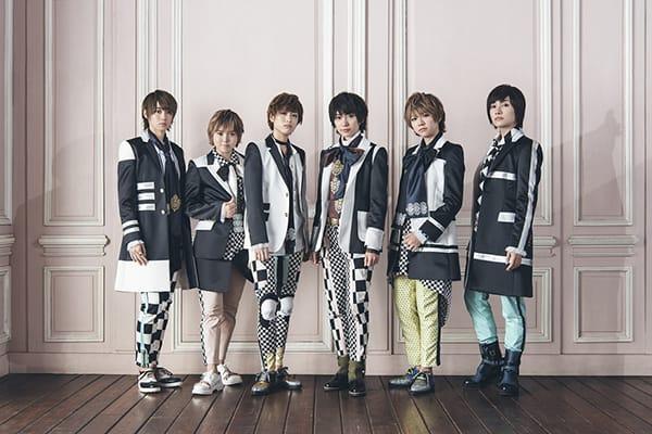 風男塾(ふだんじゅく)の新曲「NOIR〜ノワール〜」MV予告編解禁、描き下ろしキャラクタージャケットも公開!