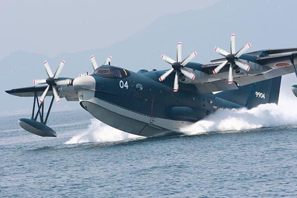 海上自衛隊ご自慢の飛行艇に同乗「これが海上救難の現場だ」 | Smart ...