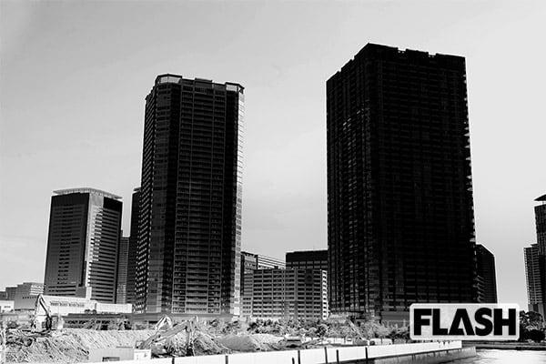 人気エリア・豊洲ではタワーマンションが林立し、工事もひっきりなしだが……