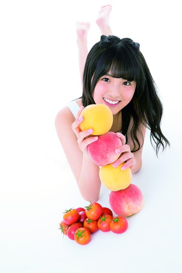 透明感のある大園桃子