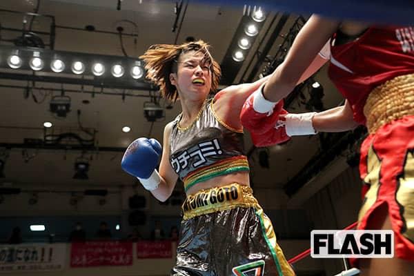 世界を狙える逸材!元「ミス府中」の美女ボクサーに一目惚れ