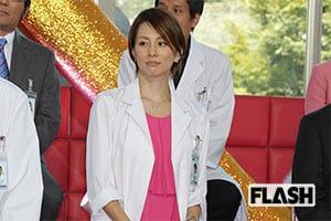 「ドクターX」絶好調を支える米倉涼子のふくらはぎマッサージ