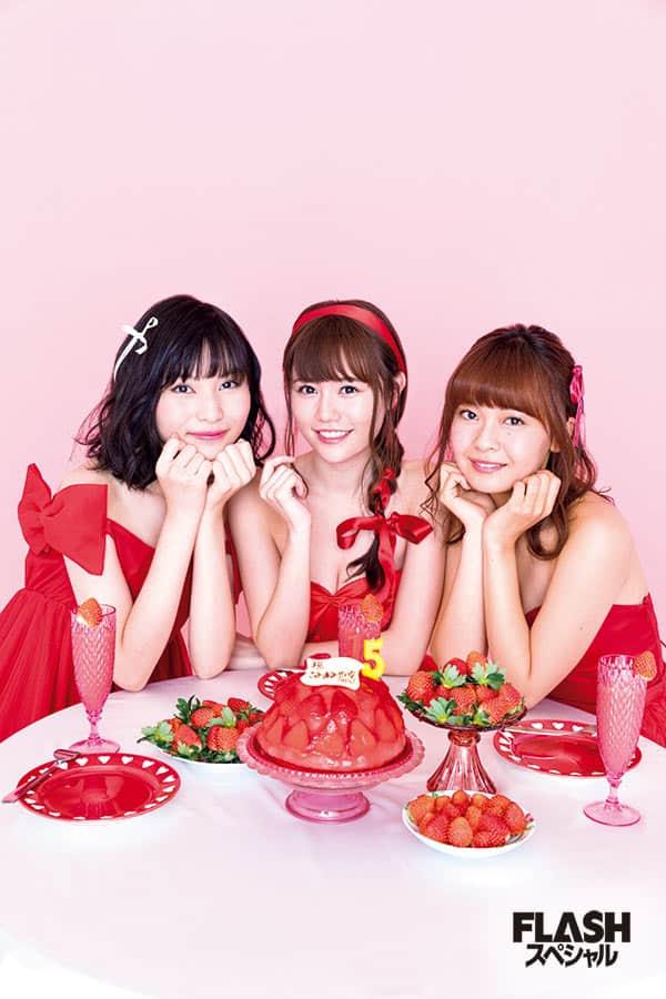 AKB48 第15期生いちごちゃんず ユニット選抜おめでとう 水着 de グラビア