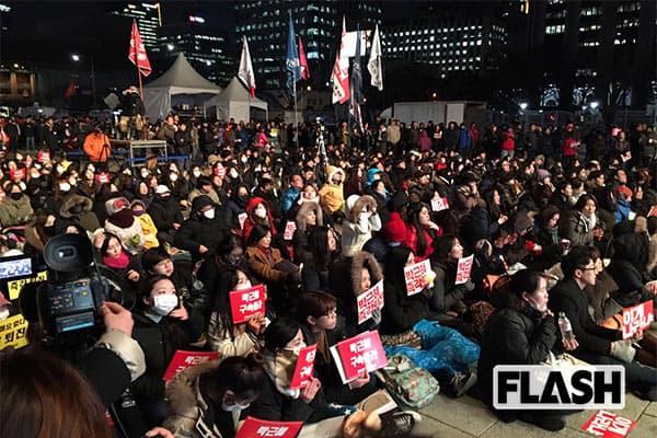 韓国デモ現地取材「朴槿恵を火あぶりにせよ」市民怒りの理由