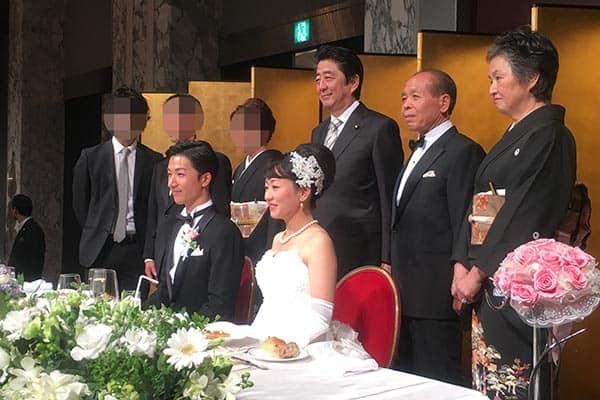 鈴木宗男「愛娘」の結婚式で飛び出た安倍総理の祝福の言葉