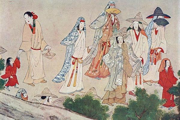『戦国時代の日本人(『日本風俗画大成』より)』