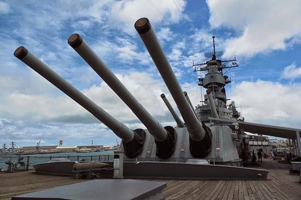 『真珠湾に残された戦艦ミズーリ』