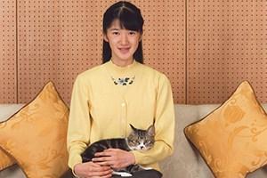 動物好き「愛子さま」いまの愛猫は「セブン」と「みー」