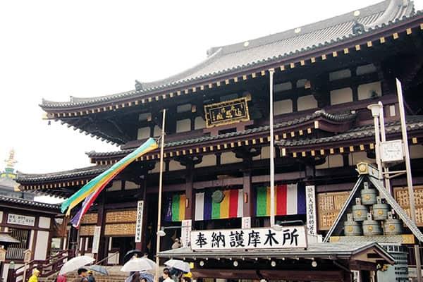 『ジャニーズのメンバーが初詣した川崎大師』