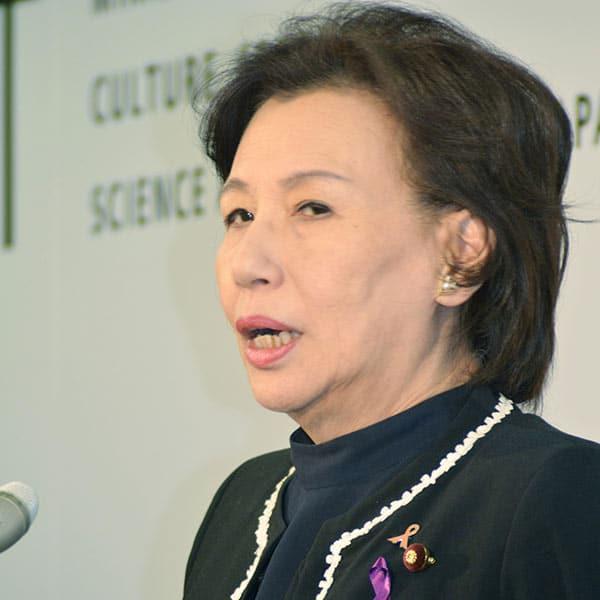 元衆院議員 田中眞紀子