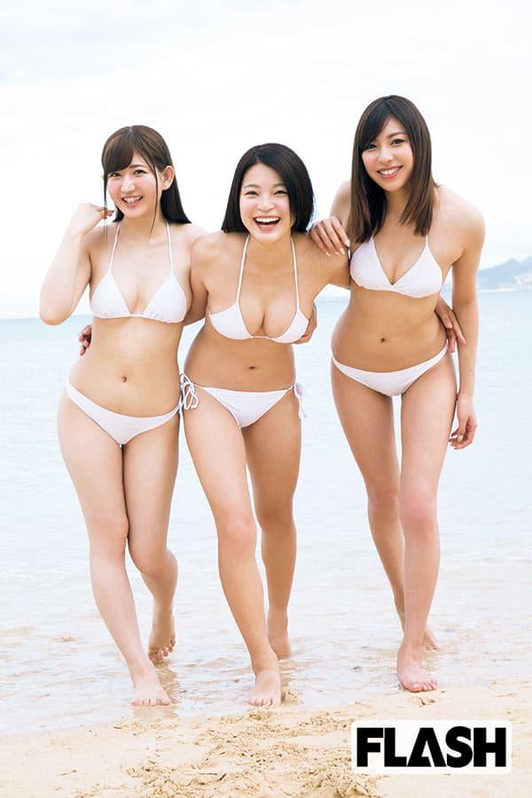 【速報】「ミスFLASH2017」グランプリ決定!3人の素顔