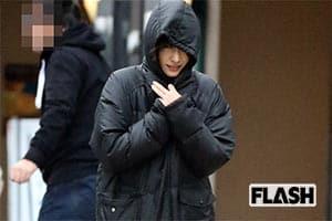 新作映画のロケでみせた「新垣結衣」キュートな寒空フード姿