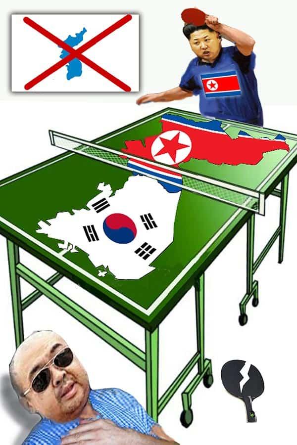 【マッド・アマノ最新パロディ】「統一朝鮮は夢のまたの夢」