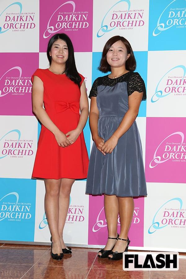 『永峰咲希(右)堀琴音(左)』