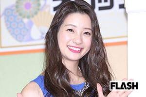 Jリーガーのアイドル「足立梨花」同棲恋人は同級生俳優