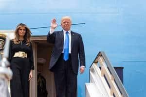 初外遊の裏でトランプ大統領「ワシントンを離れたくない」