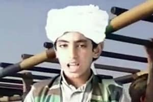 新たな脅威!ビデオで自爆テロを促す「ビン・ラディンの息子」