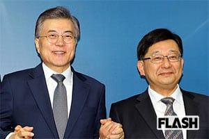 """韓国のムン・ジェイン大統領「反日ブレーン」は""""日本人"""""""