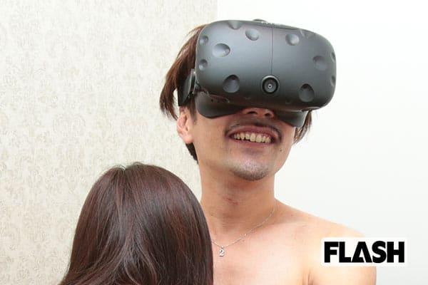 仮想現実とリアルな温もりが同時に楽しめる「VR風俗」