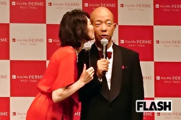 賀来千賀子が「女をあげた」バイきんぐ小峠へのキス
