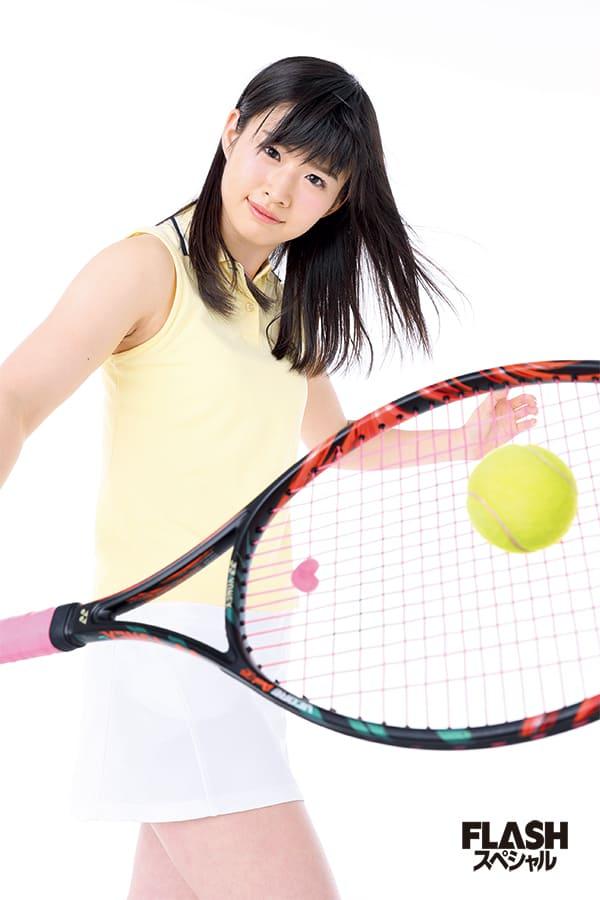 AKB48佐藤 朱「スマッシュをねらえ!」