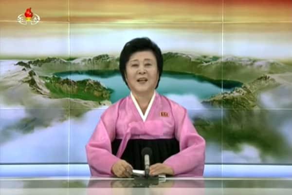 北朝鮮の重大放送で登場した「伝説の女子アナ」の正体