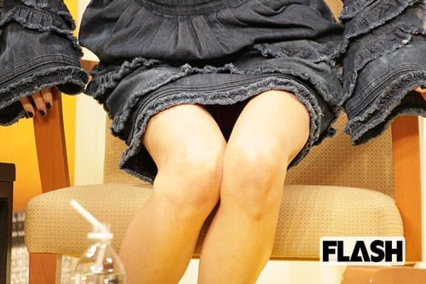 個性的すぎる「中島美嘉」会見で見せた「悩ましい足元」