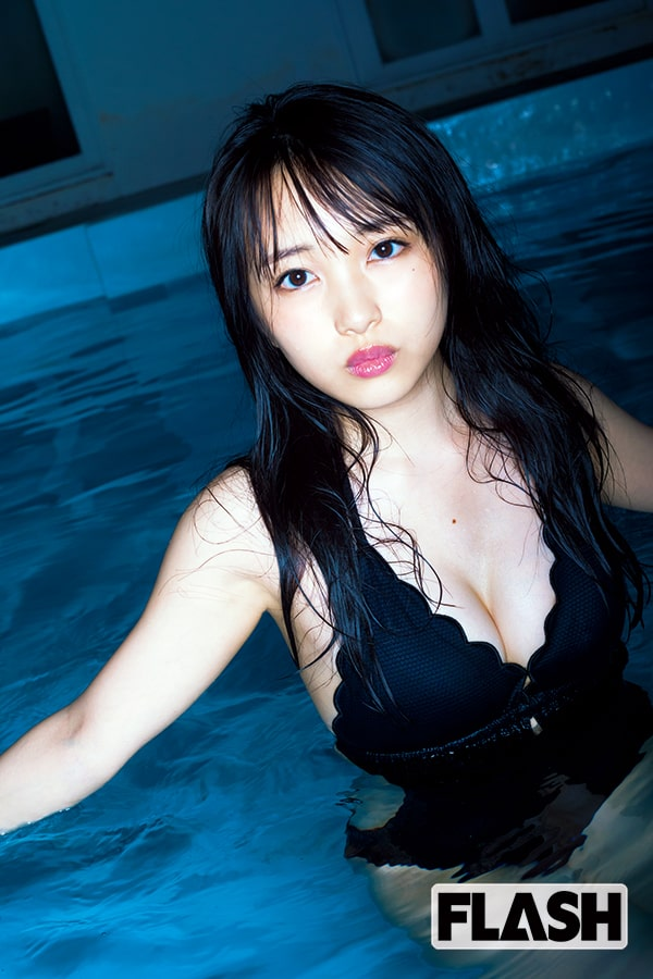 向井地美音「ナイトプールに行きたいけど、泳げない!」