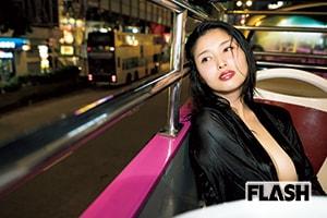 橋本マナミ「香港で乱れた!欲情夜行バス」