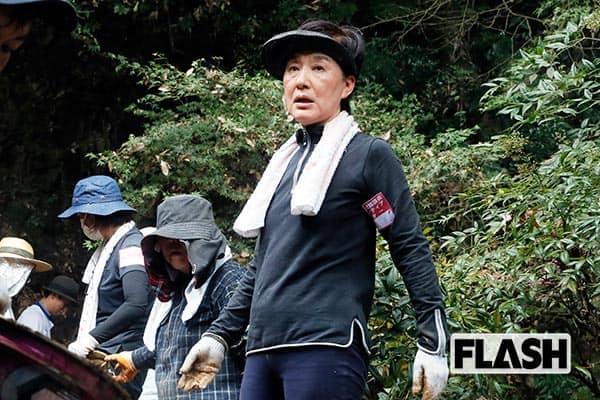 東京から1400km「松居一代」被災地で「負け戦はしない」