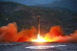 北朝鮮がグアムに向けて発射するミサイルは「秒速3km」