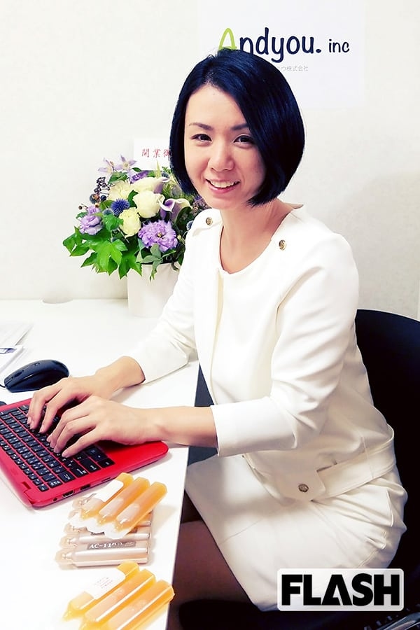 「小島可奈子」心理カウンセラーしながらドリンク剤で起業