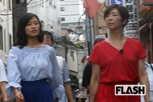 小島瑠璃子と中井美穂がロケ中にみせた女子トーク