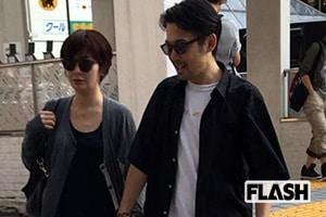 岡田義徳と田畑智子「新宿デート」を発見撮!