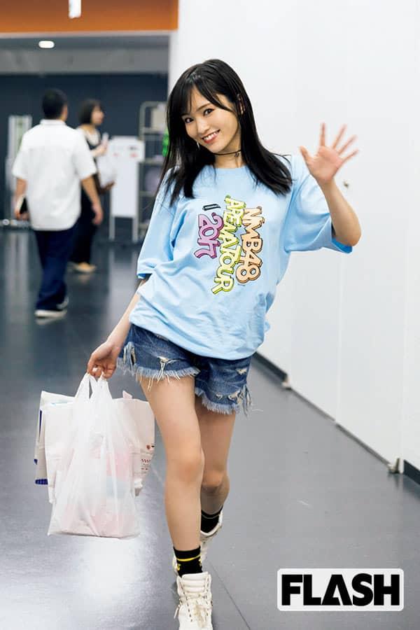 NMB48山本彩「ライブは全力でふざけたよ!」