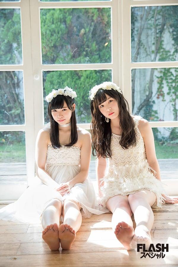 荒巻美咲×運上弘菜 AKB48グループユニットじゃんけん大会2017 祝!優勝記念グラビア「fairy w!nk はにかみティターニア」