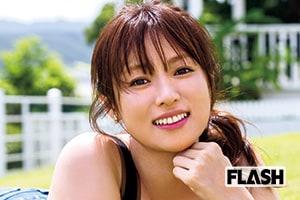 深田恭子「撮れたての笑顔」