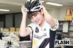 運動大好きモデル松元絵里花「自転車の魅力はチームプレイ」