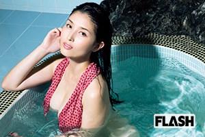 橋本マナミ「溺れる!」