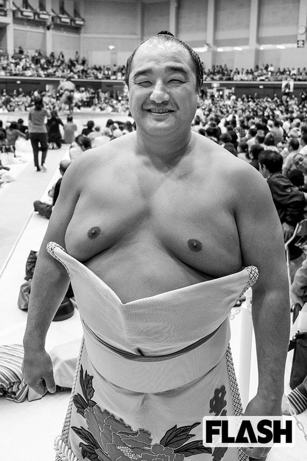 最年長関取「安美錦」7月に生まれた長男におしっこかけられた